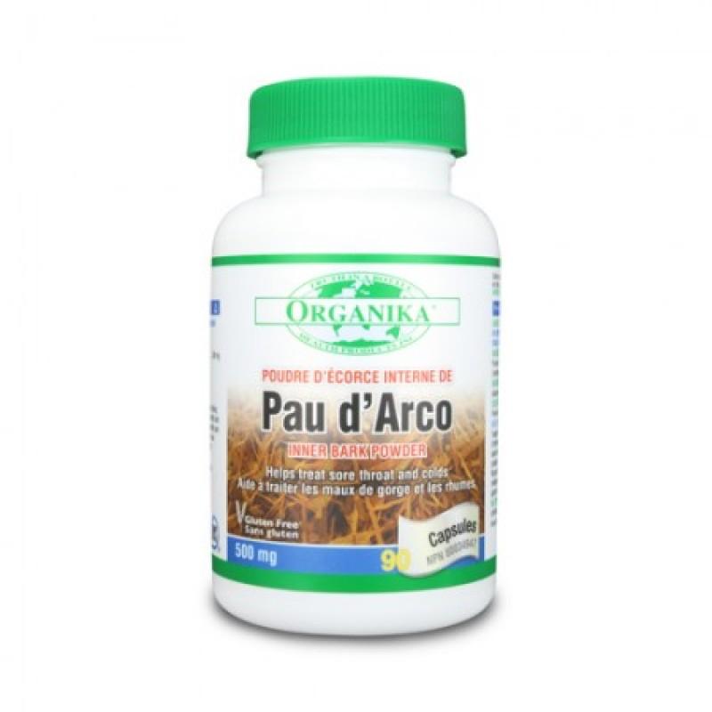 Pau D'arco Organika 500 mg (90 capsule)
