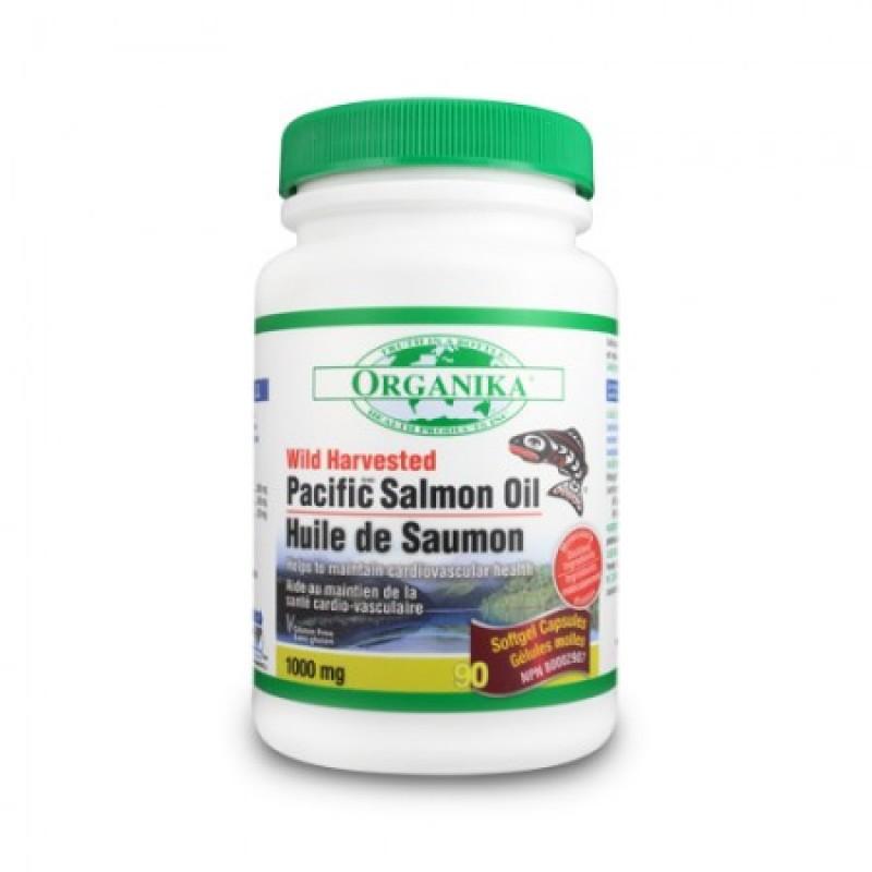 Omega 3 Ulei de Somon salbatic de Pacific 1000 mg (180 gelule)