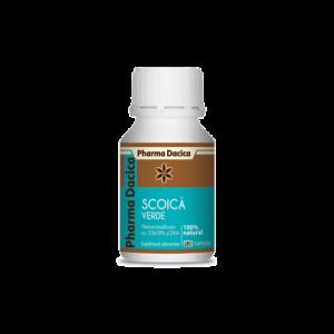 Scoica Verde ( 180 capsule), Pharma Dacica