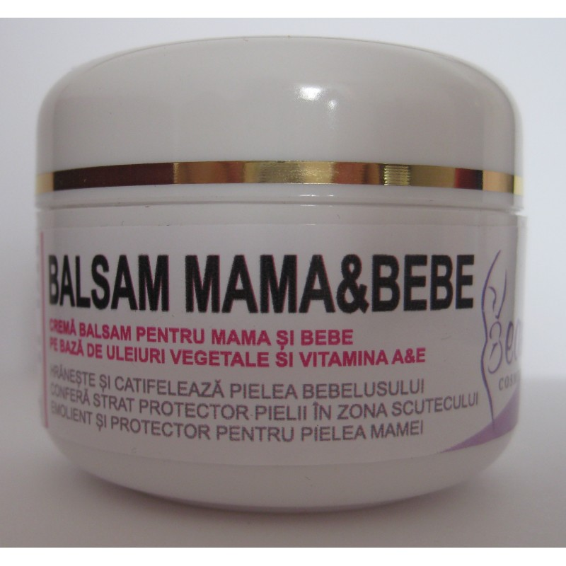 Crema balsam  pentru mama si bebe (50 ml), Beautiful Cosmetics