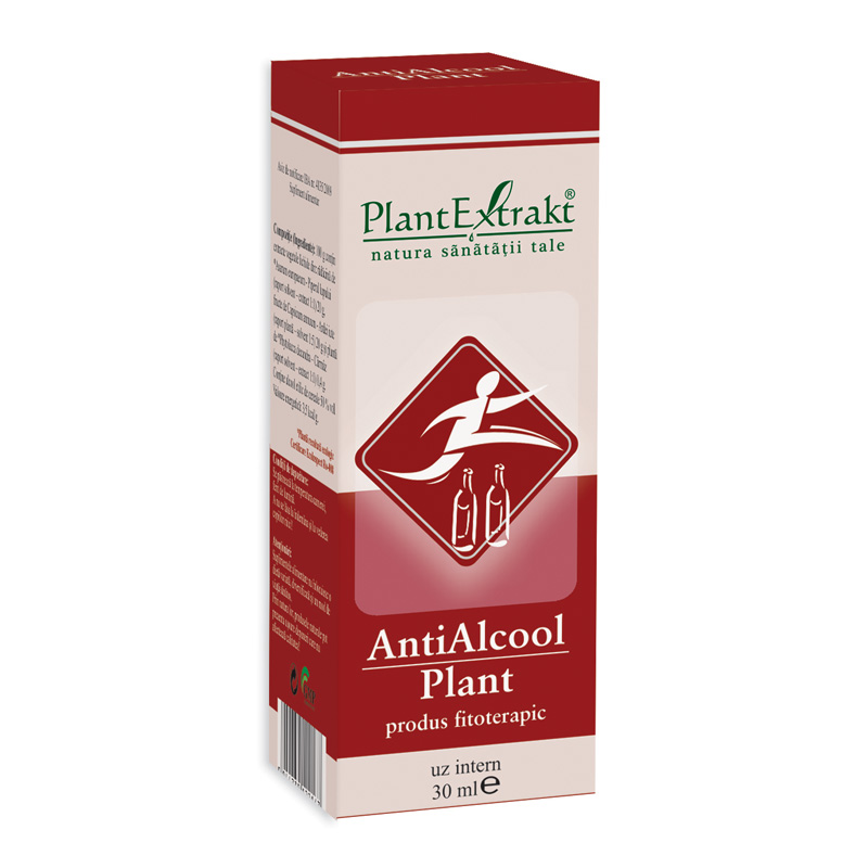 Antialcool Plant (30 ml), Plantextrakt