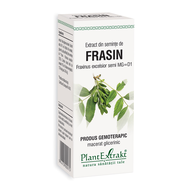 Extract din seminte de frasin - Fraxinus Excelsior MG=D1 (50 ml), Plantextrakt