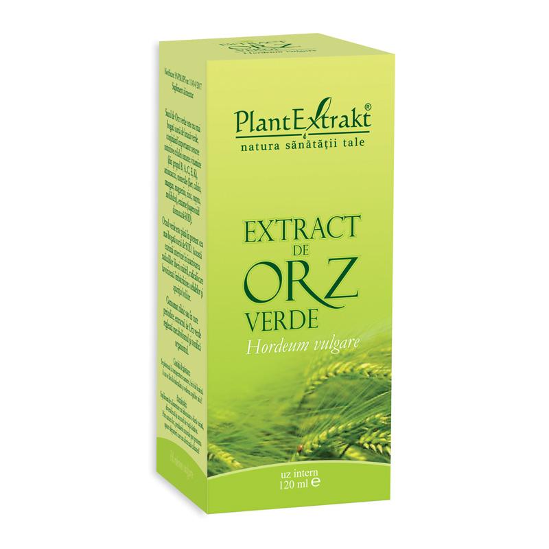 Extract de orz verde (120 ml), Plantextrakt