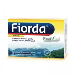 Fiorda - aroma de lamaie (30 comprimate pentru supt), Plant Extract
