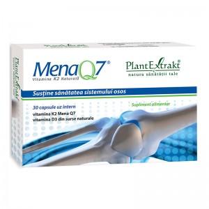 Mena Q7 - Vitamina K2 naturala (30 capsule), Plantextrakt