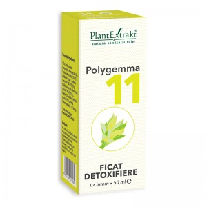 Polygemma 11 - Ficat, detoxifiere (50 ml), Plantextrakt