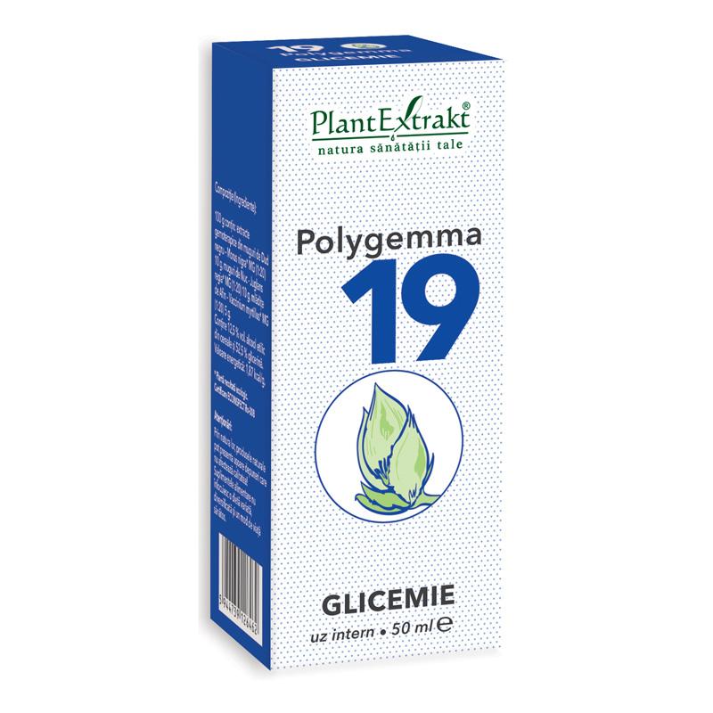 Polygemma 19 - Glicemie (50 ml), Plantextrakt