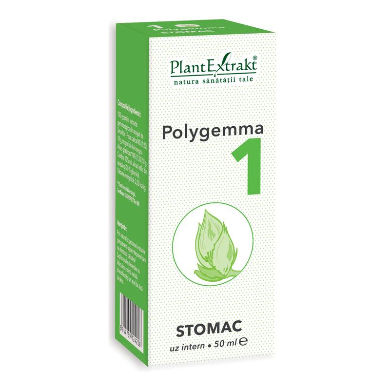 Polygemma 1 - Stomac (50 ml), Plantextrakt