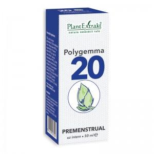 Polygemma 20 - Premenstrual (50 ml), Plantextrakt
