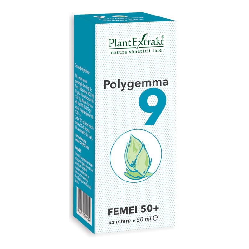 Polygemma 9 - Femei 50+ (50 ml), Plantextrakt