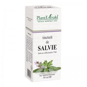 Tinctura de salvie - Salvia Officinalis TM (50 ml), Plantextrakt