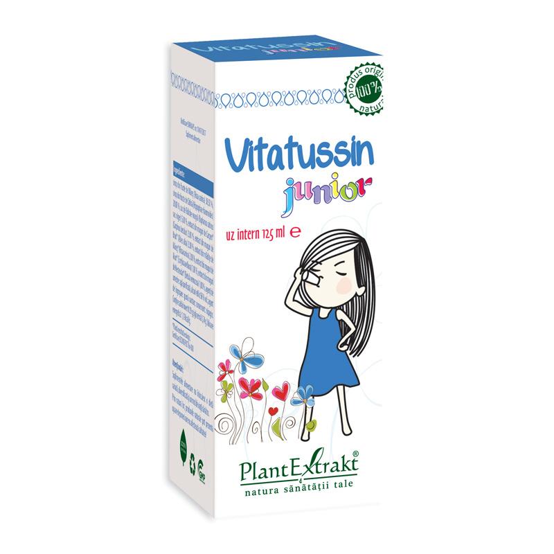 Vitatussin Junior (125 ml), Plantextrakt