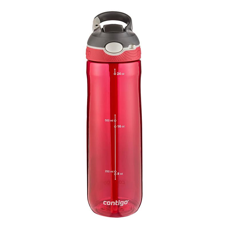 Sticla de apa cu sistem Autospout Contigo Ashland 720 ml red