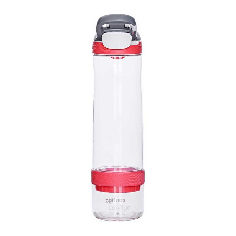 Sticla de apa cu sistem Autoseal Contigo Cortland Infuser 770 ml watermelon