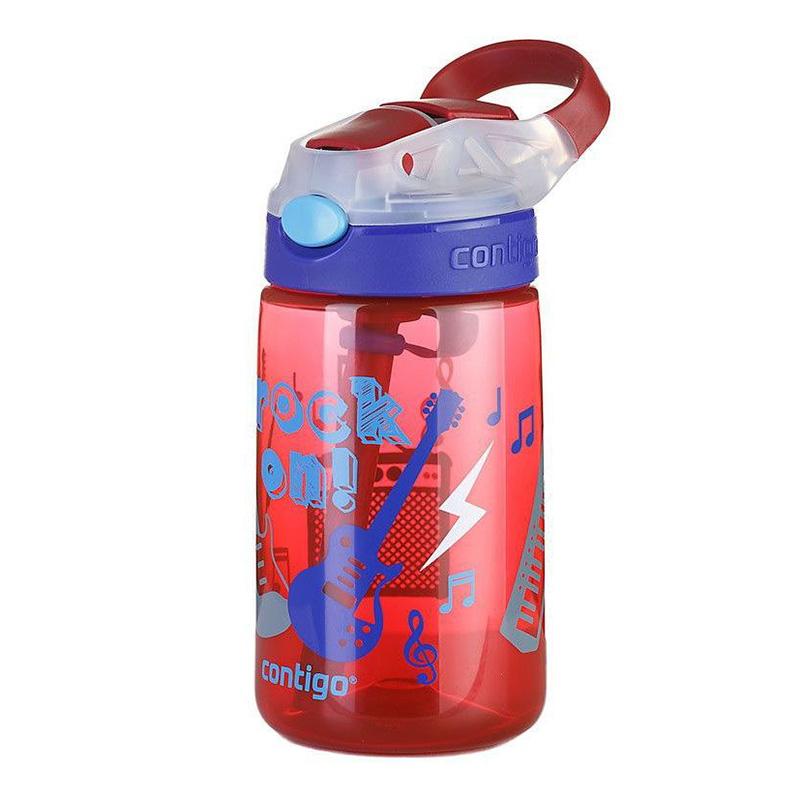 Sticla de apa pentru copii Contigo Gizmo Flip 420 ml cardinal rock