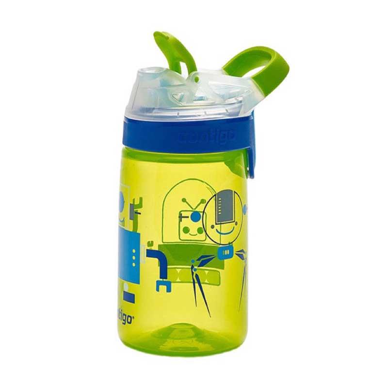 Sticla de apa pentru copii Contigo Gizmo Sip 420 ml chartreuse