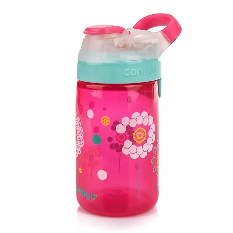Sticla de apa pentru copii Contigo Gizmo Sip 420 ml cherry blossom