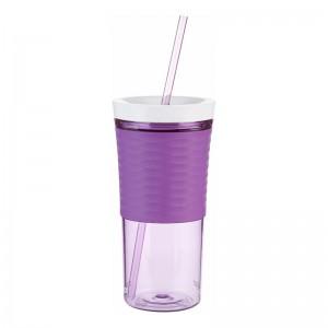Pahar cu capac Contigo Shake&Go 530 ml lilac