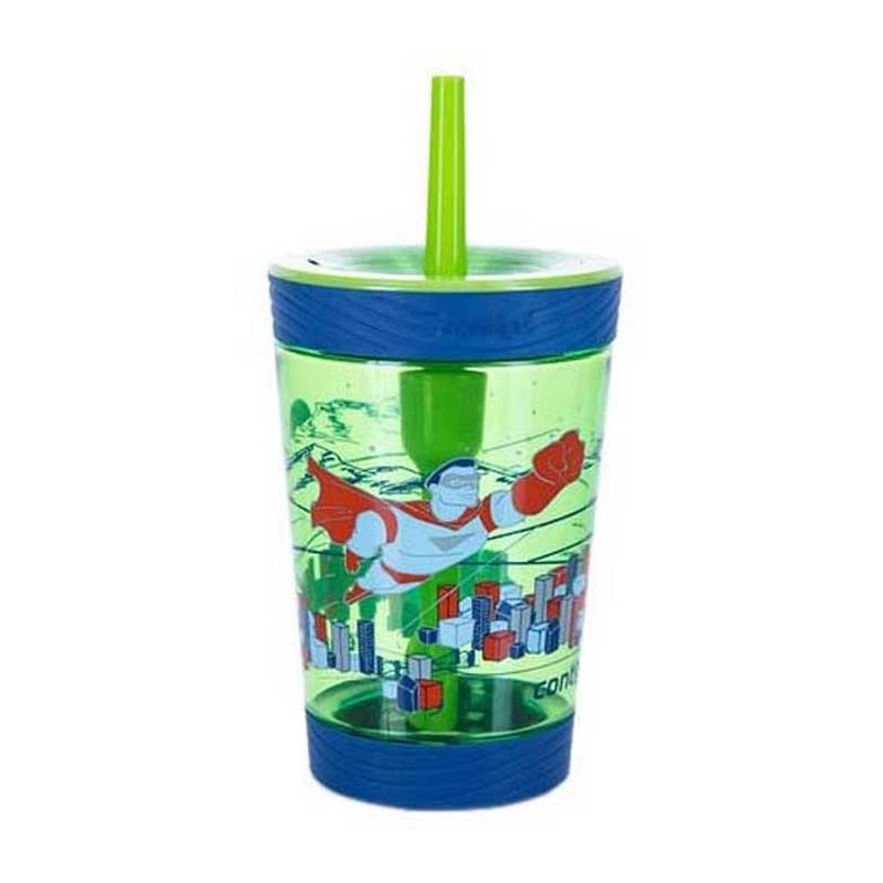 Sticla de apa pentru copii Contigo Spill Proof Tumbler 420 ml granny superhero
