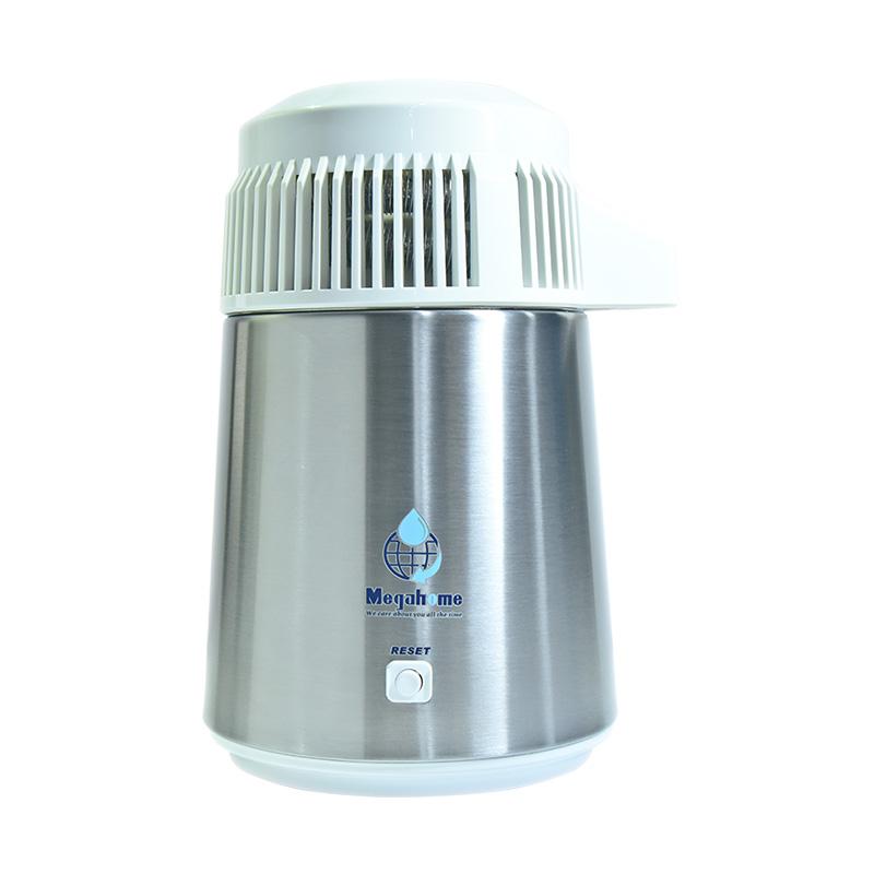 Distilator de apa Megahome inox 304 capac alb