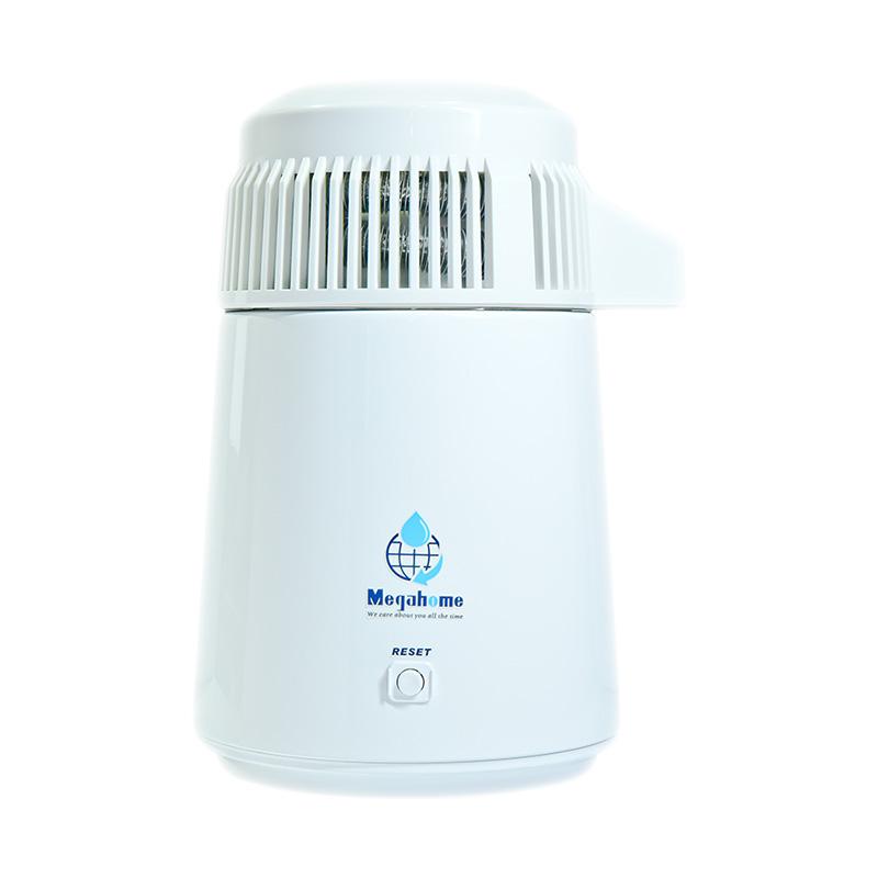 Distilator de apa Megahome inox 304 complet alb
