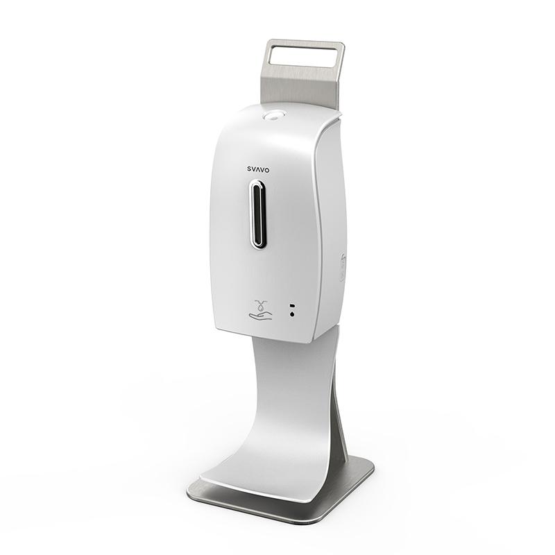Pachet Svavo Dozator automat gel 600 ml + suport antipicurare + suport de masa