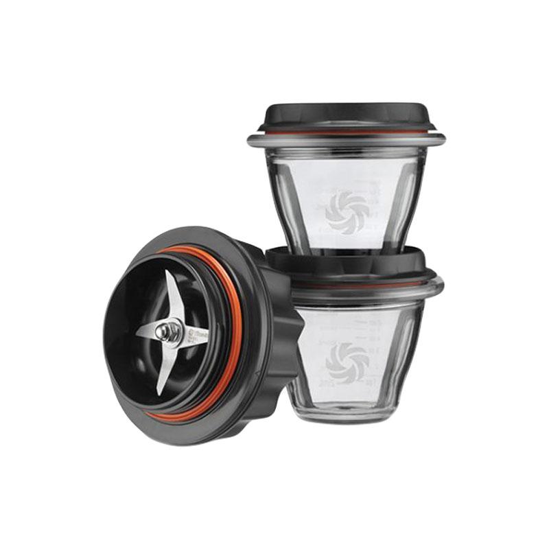 Set 2 boluri de mixare Vitamix 225 ml pentru blenderele A2300i, A2500i si A3500i
