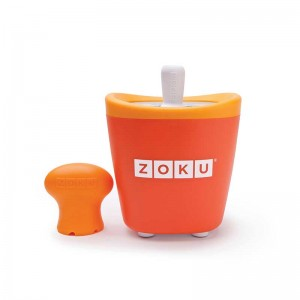 Dispozitiv pentru preparare inghetata 1 incinta Zoku ZK110 portocaliu