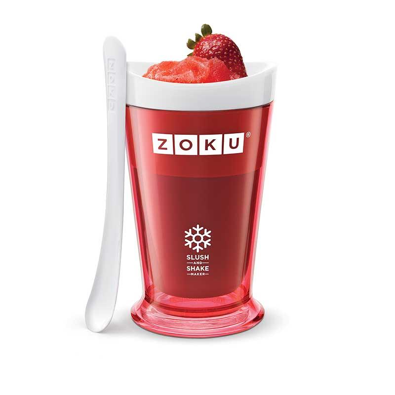 Pahar pentru shake Zoku ZK113 rosu
