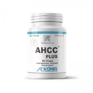 AHCC Plus Forte 700 mg (60 capsule), Konig Laboratorium