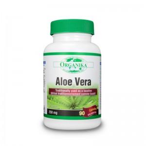 Aloe Vera 250 mg (90 capsule), Organika Canada