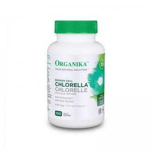 Chlorella Clorela 500 mg (100 tablete), Organika Canada