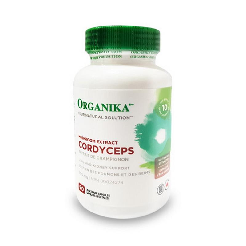 Cordyceps Sinensis 200 mg (90 capsule), Organika Canada