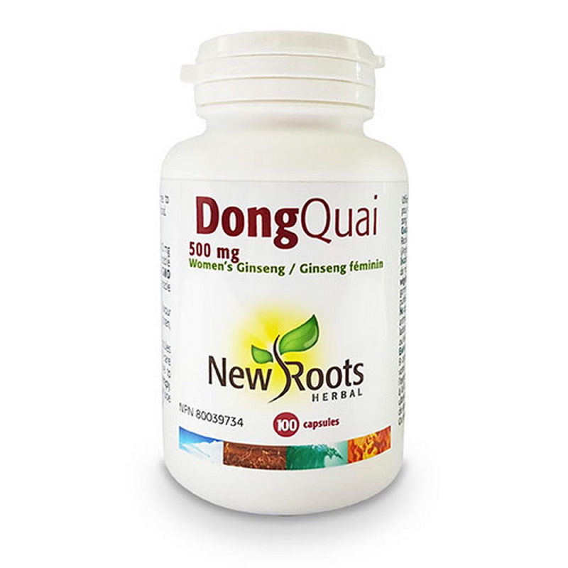 Dong Quai Forte 500 mg (100 capsule), New Roots