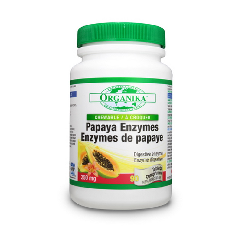 Papaya (90 tablete), Organika Canada