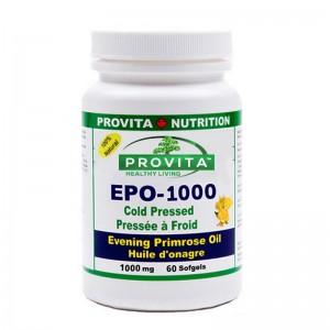 Omega-6 Ulei de Primula 1000 mg (60 capsule), Provita Nutrition