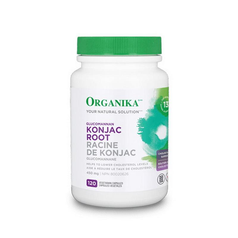 Konjac Glucomannan 450 mg (120 capsule), Organika Canada