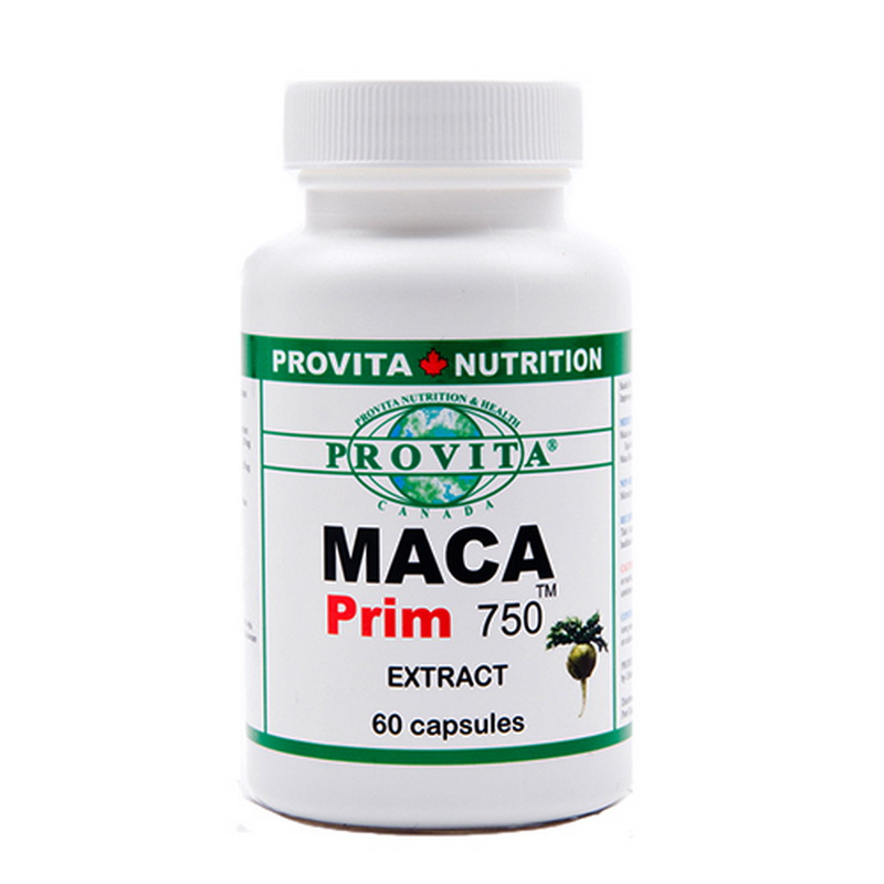 Maca Prim 750 mg (60 capsule), Provita Nutrition
