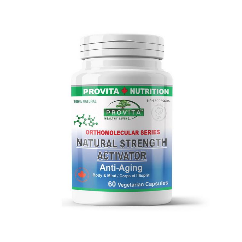 Natural Strength Activator Anti-Aging (60 capsule), Provita Nutrition