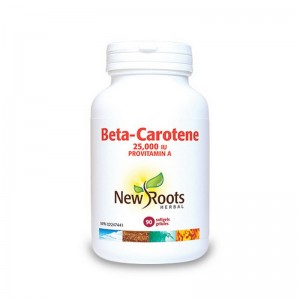 Beta Caroten Forte 25.000 UI (90 capsule), New Roots