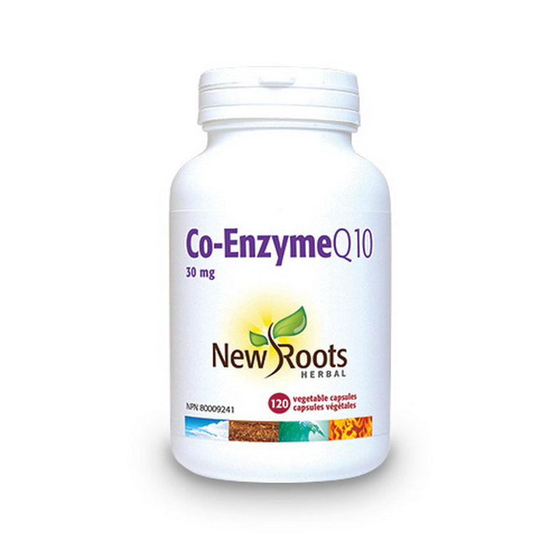 Co-Enzyme Q10 30 mg (120 capsule), New Roots
