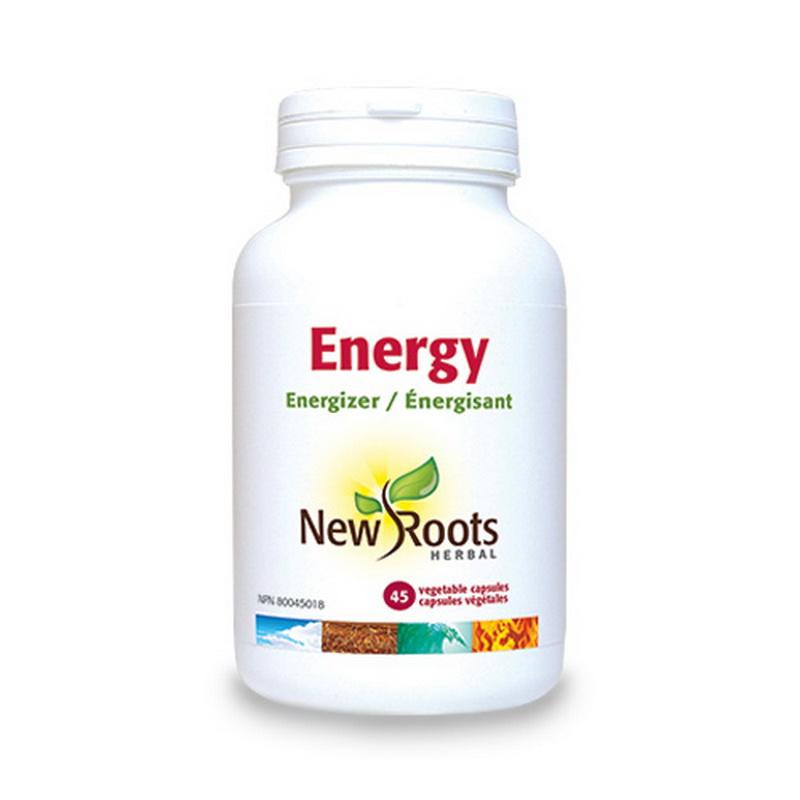 Energy Energie si rezistenta crescuta (45 capsule), New Roots
