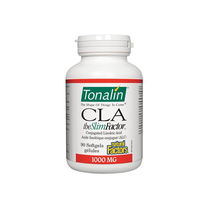 CLA Tonalin The Slim Factor 1000 mg (90 capsule), Natural Factors