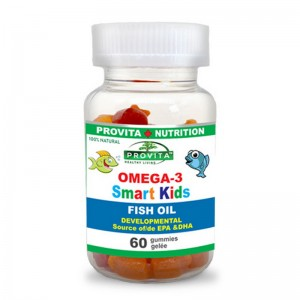 Omega-3 Smart Kids (60 jeleuri), Provita Nutrition