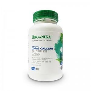 Calciu Coral pulbere 100% pura (125 grame), Organika Canada