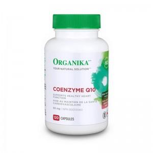 Coenzima Q-10 60 mg (120 capsule), Organika Canada
