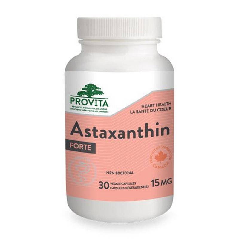 Astaxanthin Forte 15 mg (30 capsule), Provita Nutrition