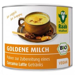 Golden Milk bio (70 grame) (bautura instant cu turmeric), Raab Vitalfood