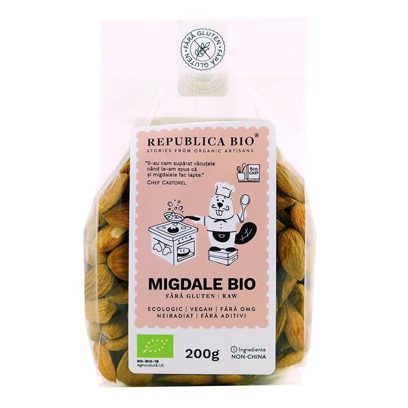 Migdale fara gluten (200 grame), Republica Bio