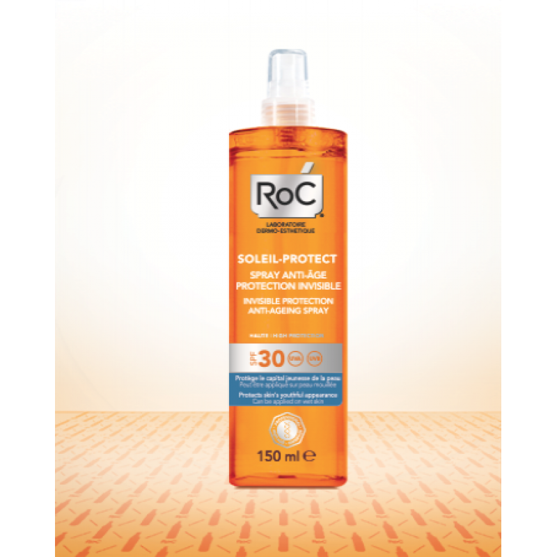 SOLEIL PROTECT Spray antiageing SPF 30 (150 ml), RoC Cosmetics
